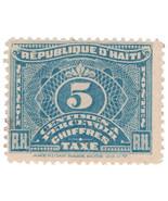 (I.B) Haiti Revenue : Postal Tax 5c - €6,02 EUR