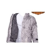Men's Grey Water-Resistant Jacket With Hood MEDIUM TO 2XL CLOSEOUT DEAL ... - $24.99+
