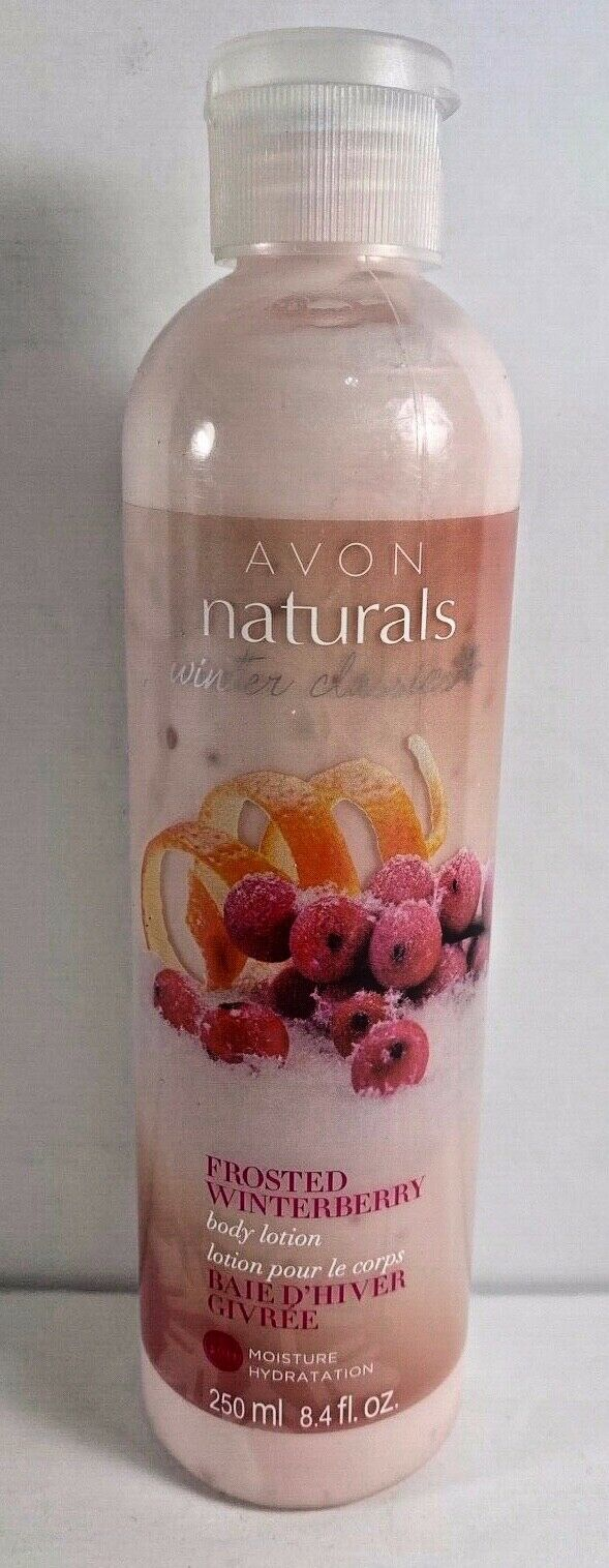 Primary image for Avon Senses Frosted Winterberry Body Lotion 8.4 fl oz