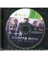 Saints Row: The Third (Microsoft Xbox 360, 2011) Game Only! - $1.48