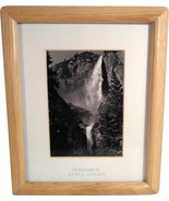 """Photography by ANSEL ADAMS YOSEMITE FALLS PHOTO MATTED FRAMED 6.5"""" X 4.5... - $39.99"""