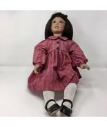 "Soul Kidz Series Porcelain 21"" Doll, Nikki & Friends, Doll #276 from 2002 - $37.01"