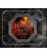 The Hobbit Chronicles The Battle of the Five Armies Art & Design HC Book... - $26.11