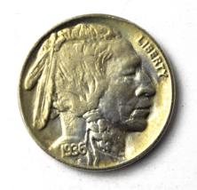 1936 5c Buffalo Nickel Five Cents US Philadelphia Uncirculated - $19.79