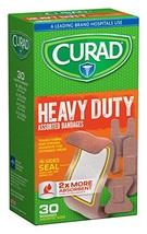 Curad Extreme Hold, Assorted Sizes, 30 Count - $4.70