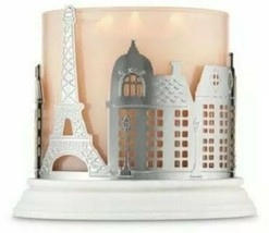 Bath & Body Works Streets Of Paris Eiffel Tower 3 Wick Candle Holder Sleeve NEW - $23.76