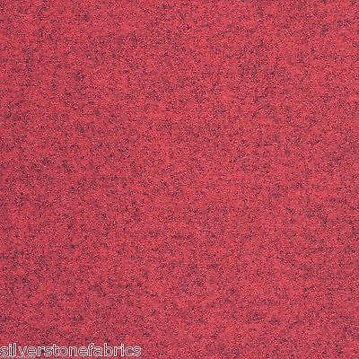 2.76 yds Maharam Upholstery Fabric Divina Melange 460830-531 Pomegranate Red RP