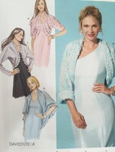 McCalls Sewing Pattern 7289 Ladies Misses Shrugs Size L-XXL 16-26 New - $17.79