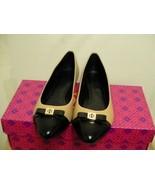 Tory burch slippers Hugo flat-mestico/boxcalf size 6.5 - $183.10