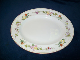 "Wedgwood Mirabelle Oval Serving Platter 15 1/2"" R4537 - $39.58"