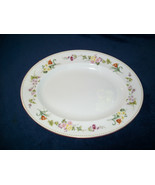 "Wedgwood Mirabelle Oval Serving Platter 15 1/2"" R4537 - $39.58"