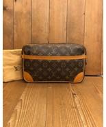 Authentic LOUIS VUITTON Monogram Compiegne 28 Clutch Bag - $395.00