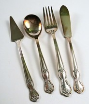 "Lot of 4 Vintage Wm. Rogers ""Extra Plate"" Silverplate Serving Utensils - $24.74"