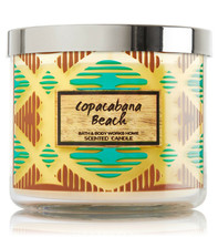 Bath & Body Works Copacabana Beach Three Wick 14.5 Ounces Scented Candle image 2