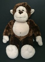 Build-A-Bear Brown Monkey Stuffed Animal Plush Toy Soft Fur BABW Ape Chimp - $9.89