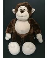 Build-A-Bear Brown Monkey Stuffed Animal Plush Toy Soft Fur BABW Ape Chimp - $9.89