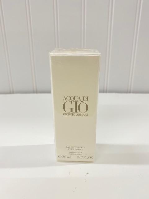ACQUA DI GIO by GIORGIO ARMANI eau de toilette For Men Spray 20ml./ .67oz SEALED - $34.99