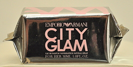 Emporio Armani City Glam For Her Eau de Parfum Edp 30ml 1 Fl. Oz. Rare O... - $150.00