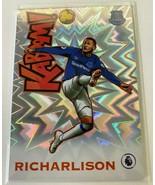 2019-20 Panini Prizm Premier League Fútbol Kaboom! Richarlison Everton F... - $297.00