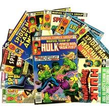 Marvel Team Up Comic Book Lot 10 Issue Bronze Age Spider-Man Hulk Iron Fist - $19.75