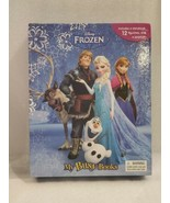 Frozen: My Busy Books by Disney Book w STORYBOOK PLAYMAT FIGURINES AGE 3+ - $14.84