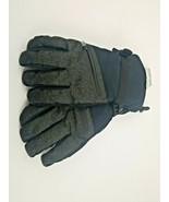 Men's Ski Gloves C9 Champion Water Proof Duo Dry Black Green L/XL - $14.50