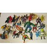 Big lot of 24 Mixed ACTION FIGURE Toys mixed sizes & Brands - $29.99