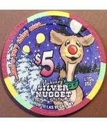 $5 Casino Chip, Silver Nugget, N. Las Vegas, NV. LTD 550. W46. - $6.50