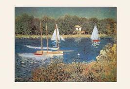 Bassin D'Argenteuil by Claude Monet - Art Print - $19.99+