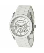 MICHAEL KORS MK8108 Runway White Chrono Unisex Watch - $106.92