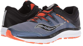 Saucony Guide ISO Sz US 9 M (D) EU 42.5 Men's Running Shoes Gray Orange S20415-5