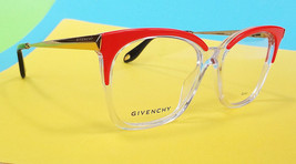 GIVENCHY PARIS Women's Frame Glasses GV0062 Orange/Crystal MADE IN ITALY... - $199.95