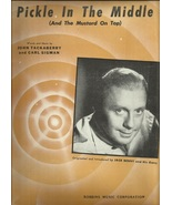 """1946 """" Pickle in the Middle """" Jack Benny Vocal ... - $9.95"""