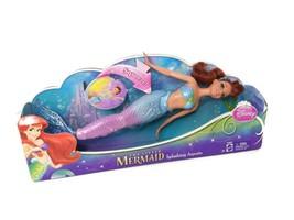 Disney The Little Mermaid Ariel Doll Splashing Aquata - New  - $98.99