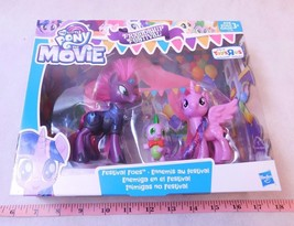 My Little Pony the Movie Friendship Festival Foes Tempest Shadow Twiligh... - $18.00