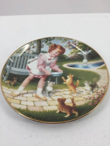 "Primary image for Danbury Mint ""Friday's Child"" Children of the Week Art Elaine Gignilliat Plate"
