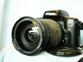 Nikon F50 Autofocus 35mm SLR Camera c/w Nikon AF Fit 28-210mm Lens   -NICE SET - $65.00