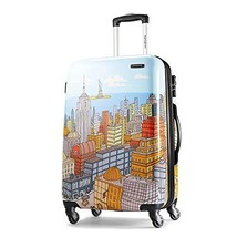 Samsonite Luggage NYC Cityscapes Spinner 28, Blue Print, One Size - $222.56