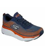 Skechers Navy Orange Shoes Men Max Cushion Elite Go Run Walk Sport Comfo... - $58.09
