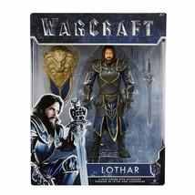 Warcraft Lothar Action Figure & Removable Sword & Shield JAKKS Pacific NIB - $25.98
