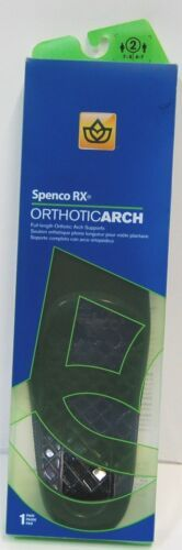 penco Rx 3082586 Full Length Orthotic Arch Supports Number 2 Color Green 1 Pair