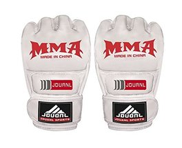 PANDA SUPERSTORE Adult Fingerless Boxing MMA Punching Mitts Training Gloves for