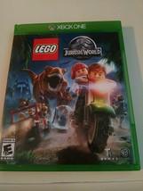 Lego Jurassic World (Microsoft Xbox ONE) Game, Case and Manual Tested - $8.90