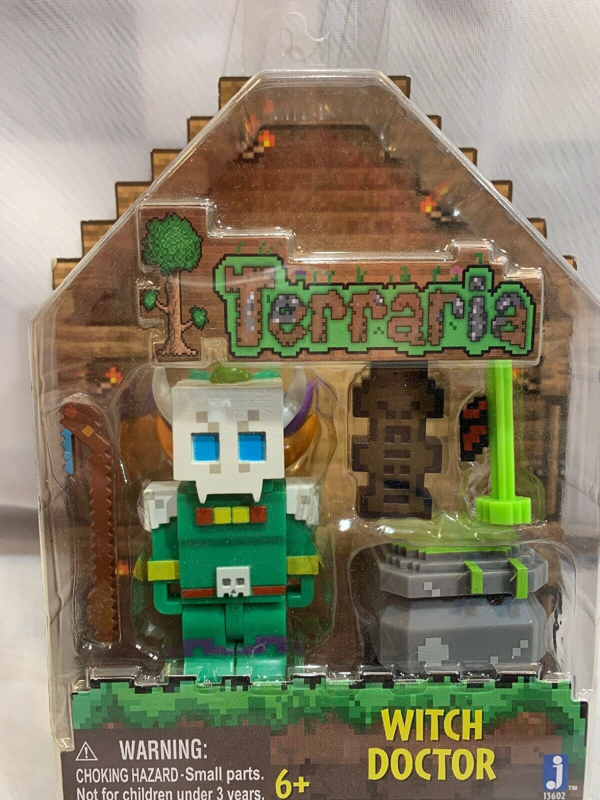 "Primary image for WITCH DOCTOR Terraria 3"" Action Figure NEW"