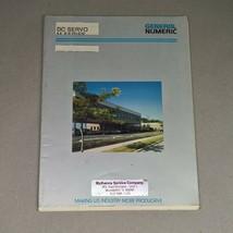 GENERAL NUMERIC DC SERVO MOTOR M SERIES DESCRIPTION MANUAL GN53262E/02  - $95.00