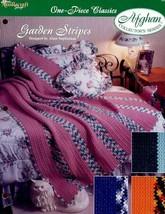 Crochet Pattern - Garden Stripes - The Needlecraft Shop - One-Piece Classics - $1.50