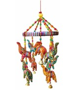 Handmade Elephant wall Roof Diwali Party wedding decorative hanging - $12.39