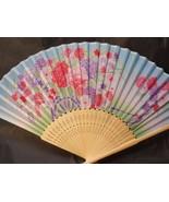 Colorful Flower Floral Silk Handheld Fan Folding Fans Asian Hand Fan #Fa... - $9.99