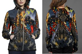 Hoodie Zipper womens Tarot The Ilumanati - $46.70+