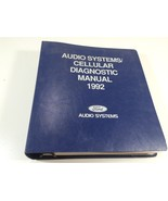 1992 Ford Audio Systems Cellular Diagnostic Manual - $24.99